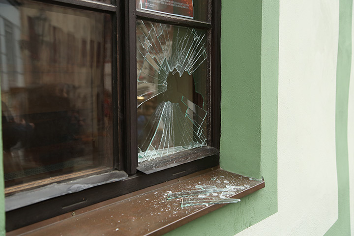 A2B Glass are able to board up broken windows while they are being repaired in Upminster.